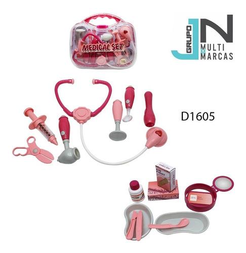 set de doctor para niñas de 18 piezas en estuche