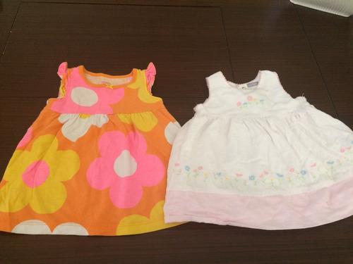 set de dos vestido bebe