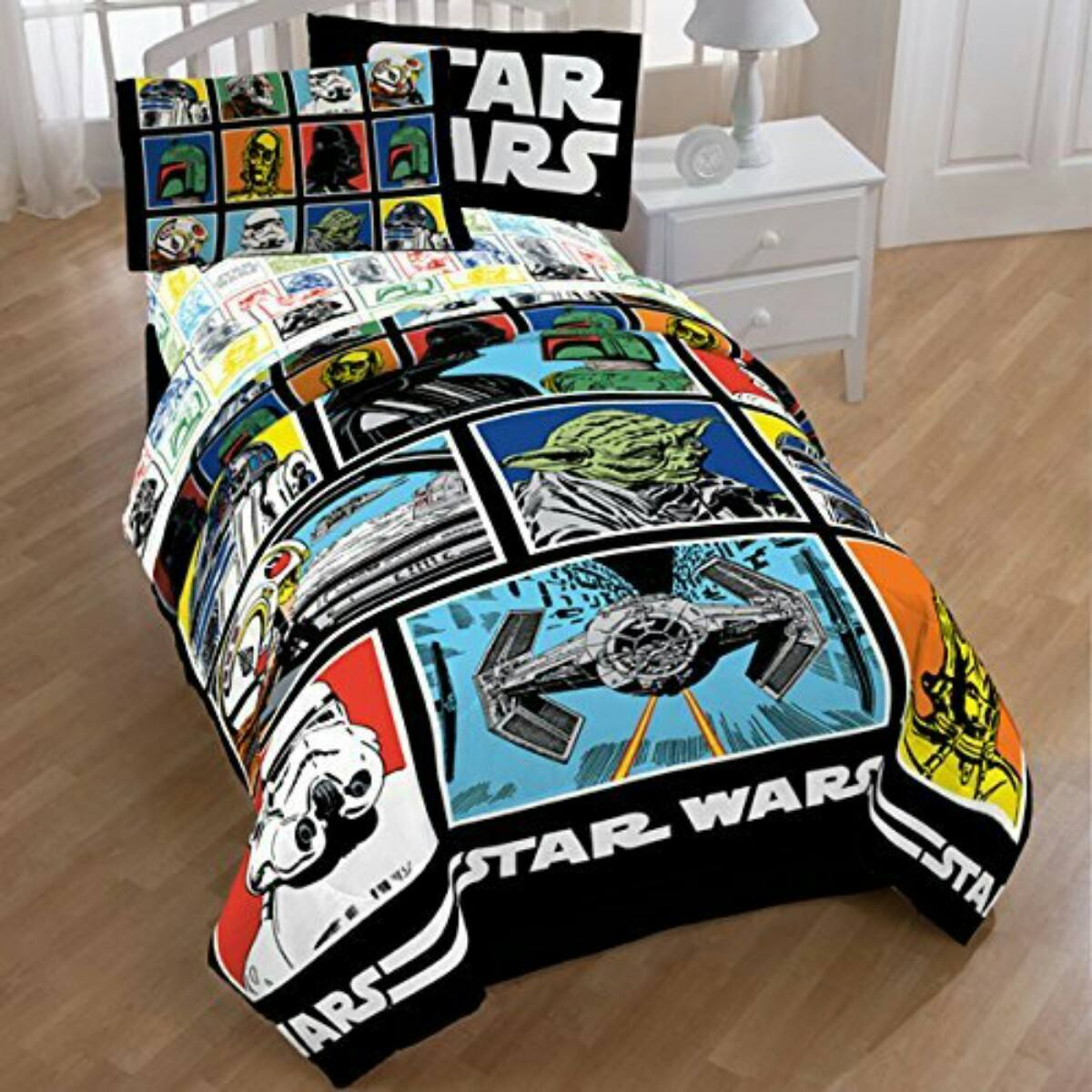 Set De Edredon De Star Wars   $ 2,150.00 en Mercado Libre