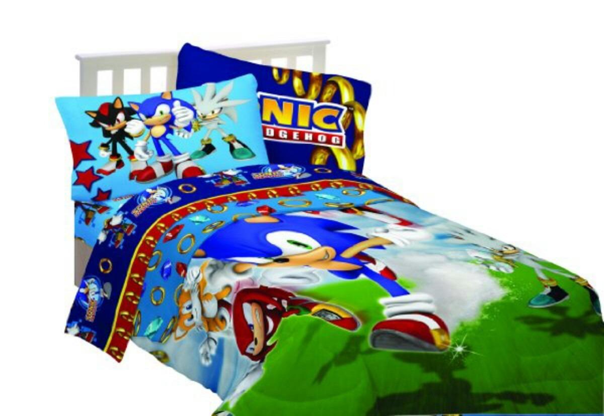 Set De Edredones Sonic Minions Lego City Mario Bros