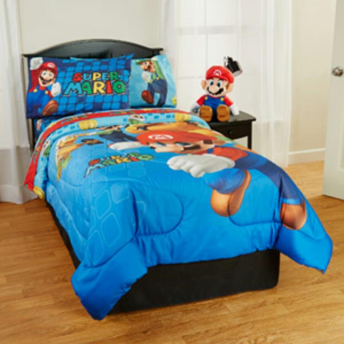 Set De Edredones Sonic, Minions, Lego City, Mario Bros