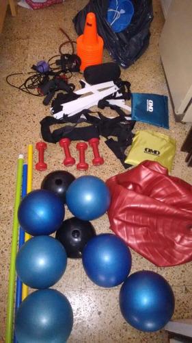 set de entrenamiento funcional y pilates