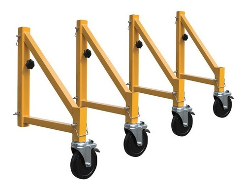 set de estabilizadores para andamio equus con ruedas