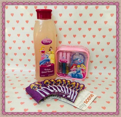 set de estuche con brillos y perfume para niñas originales