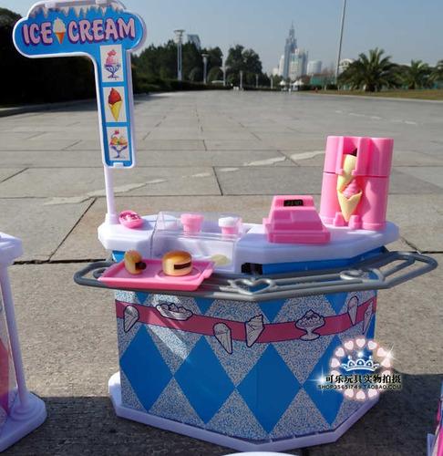 set de fast food para muñecas barbie