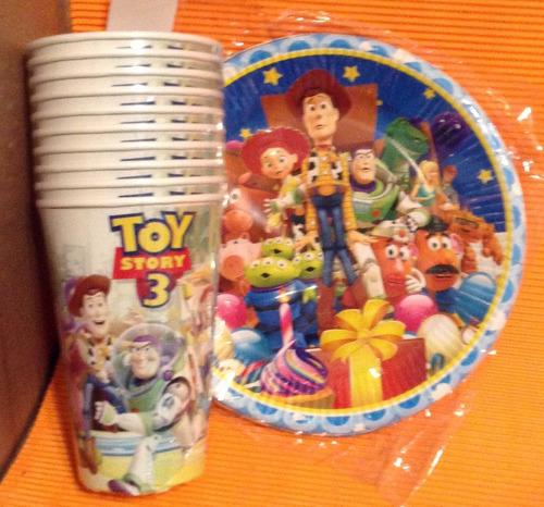 set de fiesta  jessie toy story  para 20 niños