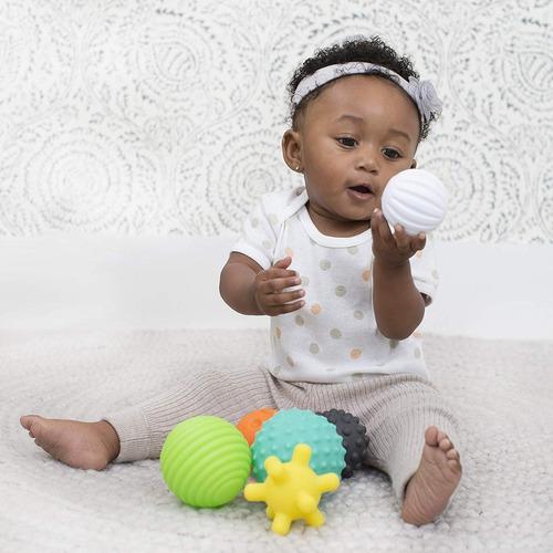 set de figuras con textura para bebes infantino