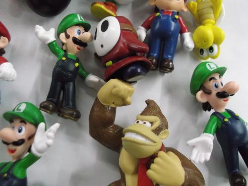 set de figuras de mario bros 18 piezas
