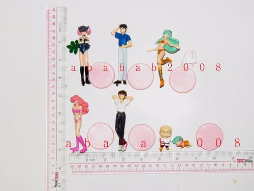 set de figuras de urusei yatsura gashapon bandai 7 figuras