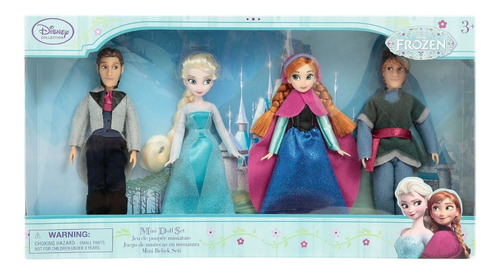 set de figuras disney collection frozen