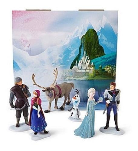 set de figuras frozen disney collection