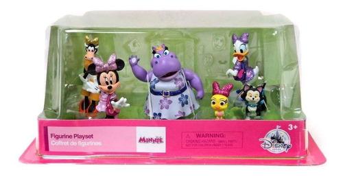 set de figuras minnie mouse happpy helpers disney envio ya