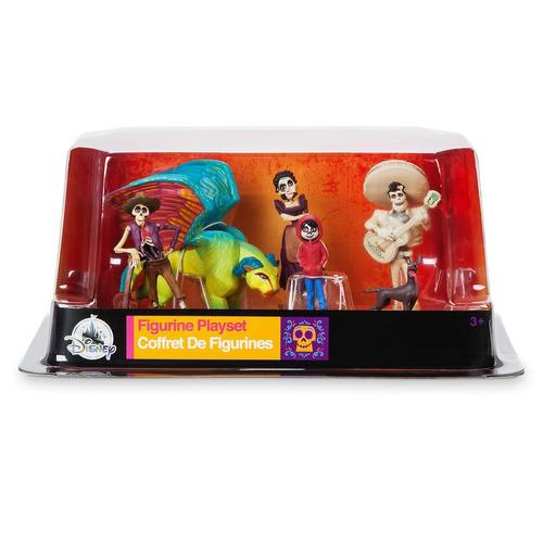 set de figuras muñecos coco disney store