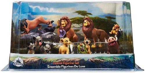 set de figuras rey leon colección deluxe  disney x 8