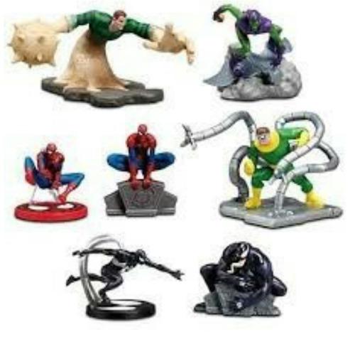 set de figuras spiderman original disney