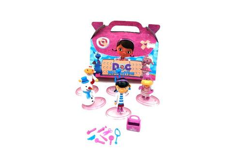 set de figuras y accesorios doctora juguetes oferta navidad