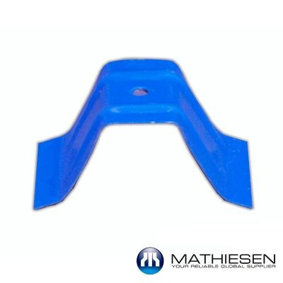 set de fijación x 10 unidades para teja forte azul