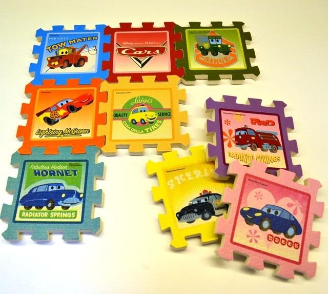 set de foami pequeos para nios toy story y cars piezas