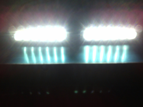 set de focos led strobe 36 watts