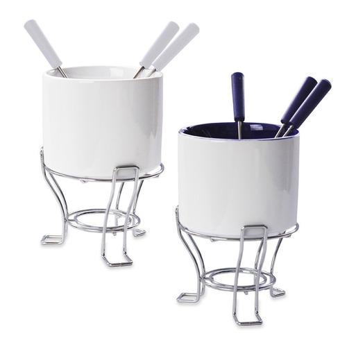set de fondue lyric/blanco