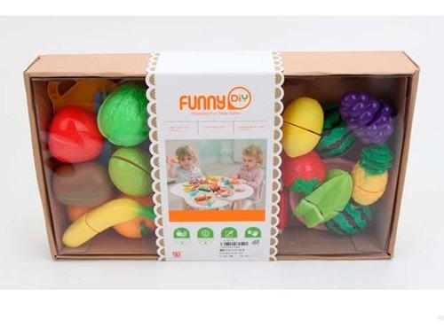 set de frutas y verduras 1761544 envio full