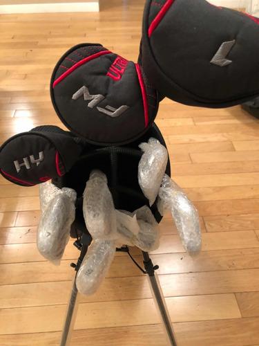 set de golf wilson ultra 2017 derecho + bolso viaje de avíon