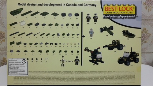 set de guerra pequeño - lego alternativo best-lock