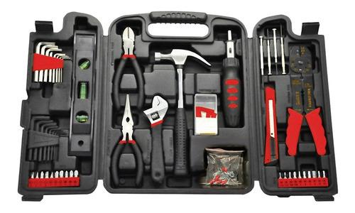 set de herramientas caja 129 piezas maletin pintumm
