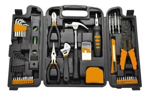 set de herramientas caja rally 129 piezas maletin lusqtoff