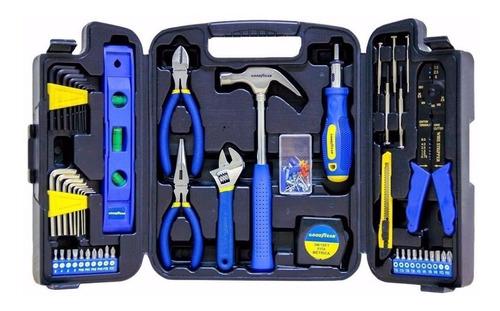 set de herramientas goodyear 129 piezas caja maletín pintumm