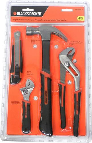 set de herramientas manuales 4 piezas black & decker
