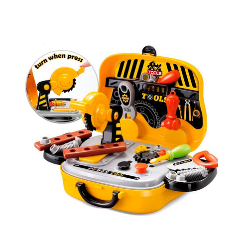 set de herramientas para niños maletin