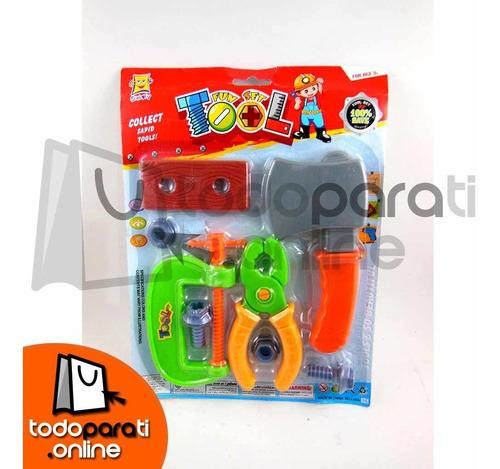 set de herramientas para niños x8