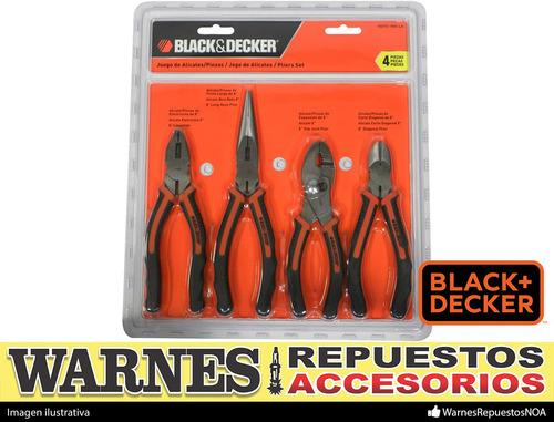 set de herramientas pinzas 4 piezas black & decker