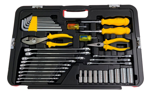 set de herramientas stanley racing 150 pcs maletin r99-150la