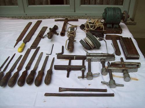 set de herramientas varias