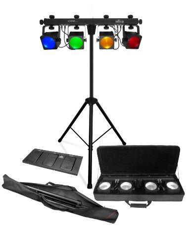 set de iluminación chauvet dj corebar4 de importación