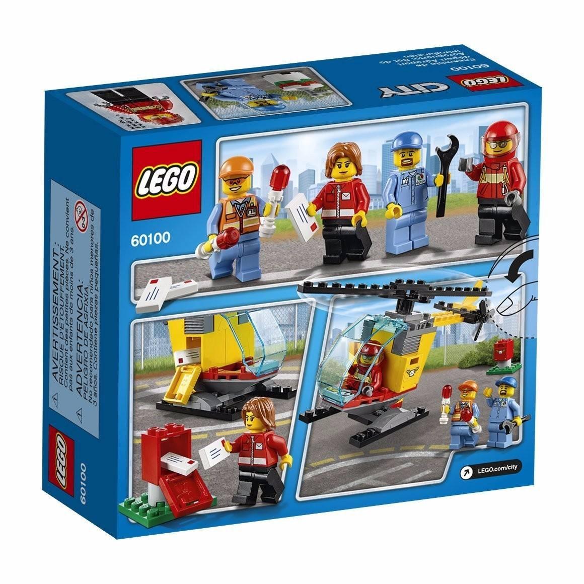 Set de introducción LEGO 60100 Aeropuerto