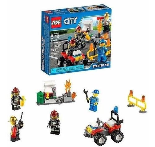 set de introducción: bomberos - lego city