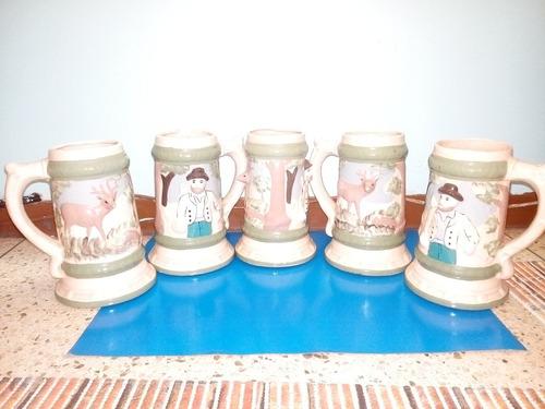set de jarras cerveceras alemanas