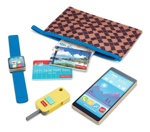 set de juego billetera en el camino- fisher-price on-the