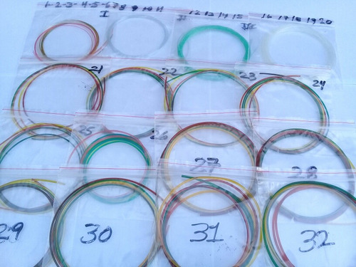 set de juego de 32 cuerdas para arpa llanera