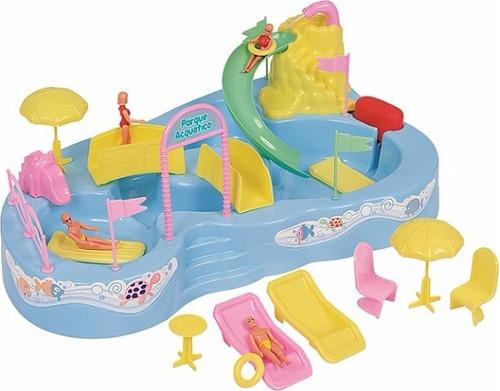 set de juego parque acuático