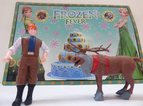 set de juguetes de frozen / muñecos articulables de frozen