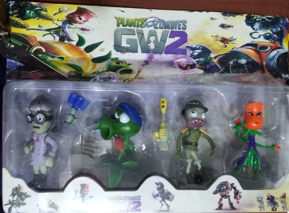 juguetes plantas vs zombies