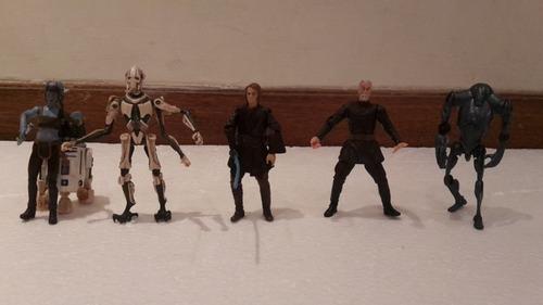 set de juguetes de star wars usados (en buen estado)
