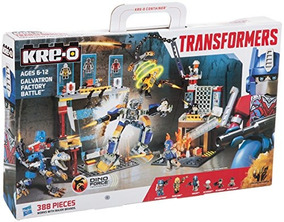 KRE-O Transformers Age of Extinction CELL BLOCK BREAKOUT w// Bumblebee 135 Pc