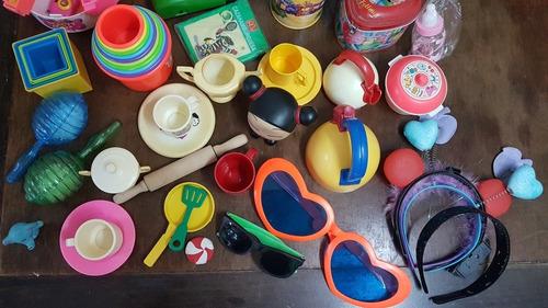 set de juguetes variados