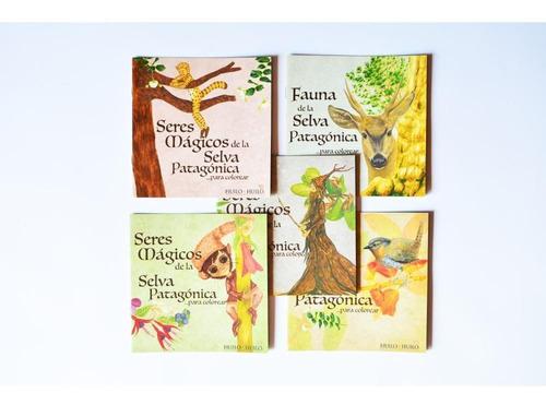 set de libros para colorear