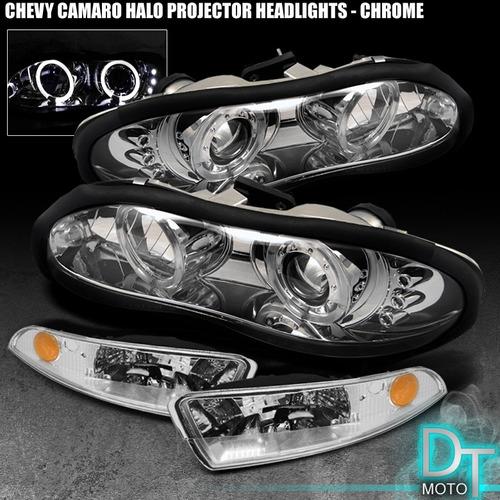 set de luces para chevy camaro 98-02 ojo de angel (4 pcs.)
